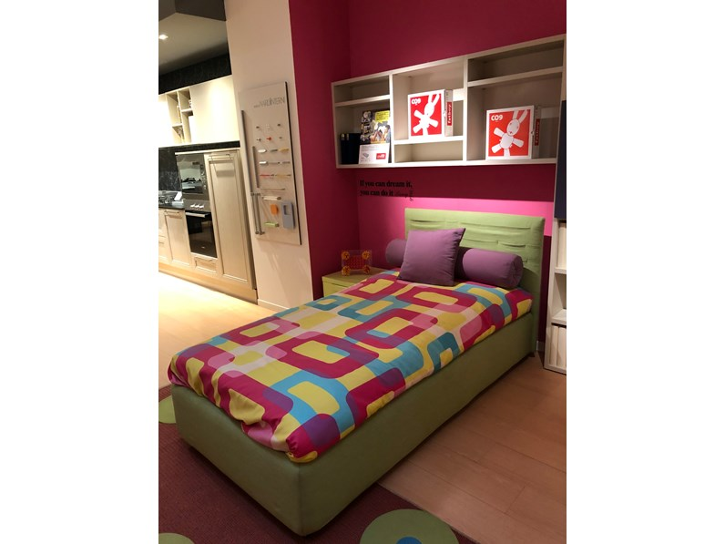 Letto Singolo Outlet.Letto Singolo Pocket Samoa In Offerta Outlet