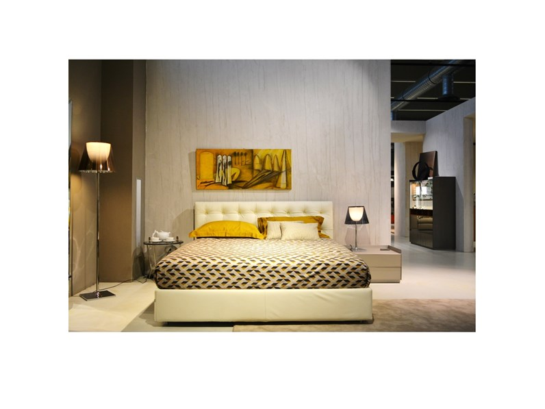 LETTO Relais Flou in OFFERTA OUTLET