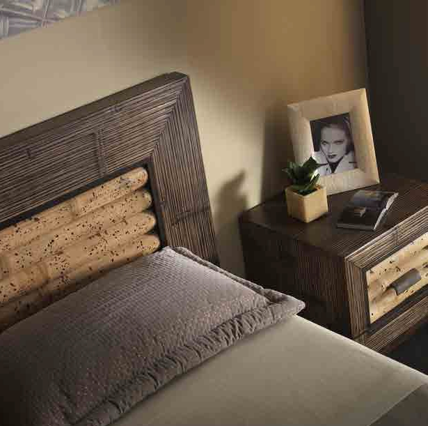 Letto rumba tiger etnico outlet in crash bambu 39 letti a for Etnico outlet