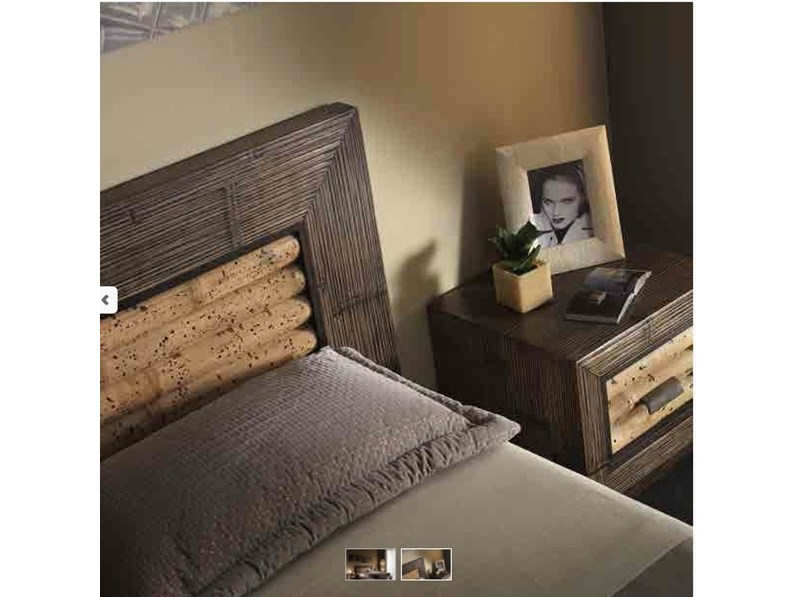 letto rumba tiger wood in legno e crash bambu in offerta