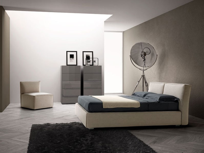 Letto matrimoniale samoa modello light for Dimensione casa arredamenti