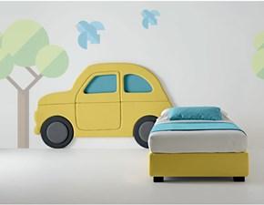 Samoa propone letto singolo modello Car della linea Kids' Worl.