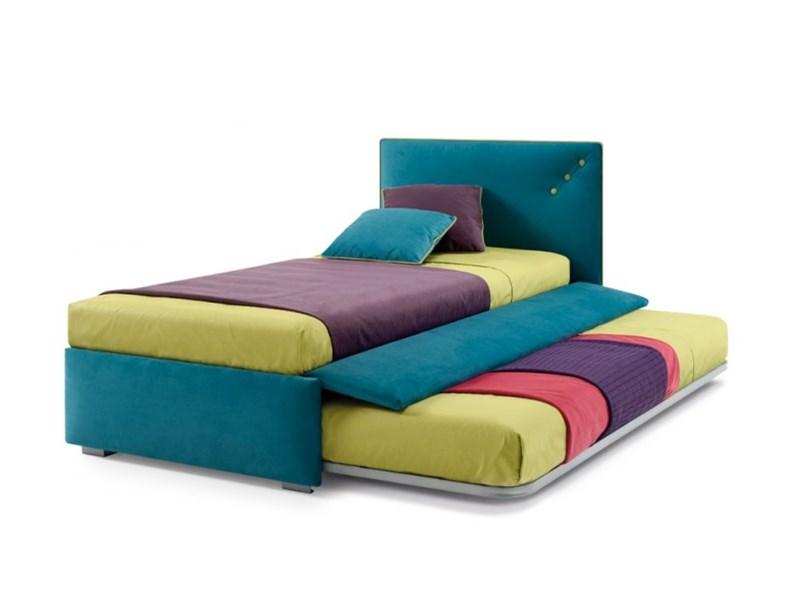Letto samoa modello snap - Letto con secondo letto estraibile ...