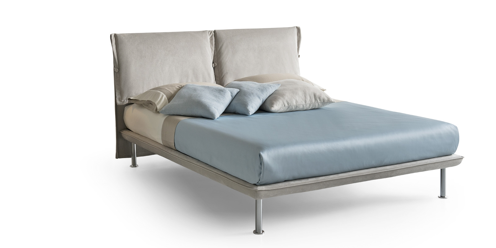 Letto azzurrite scontato del 40 letti a prezzi scontati - Gambe del letto ...