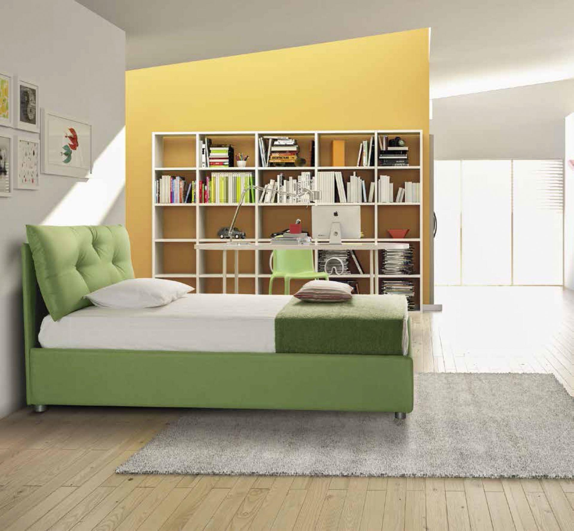 Offerta Letto Singolo Con Materasso: Del letto da a terra per rete di dimensioni il. Letto ...