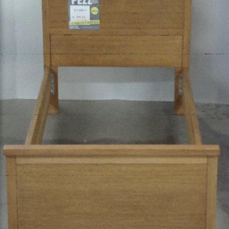 Letto singolo in legno letti a prezzi scontati for Letti in legno moderni prezzi
