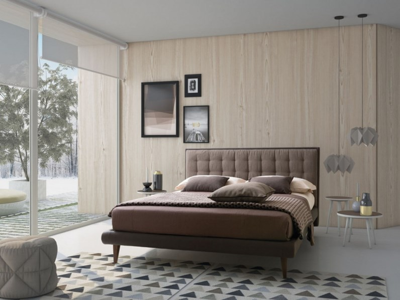 Letto smith lecomfort in offerta outlet for Letti outlet design