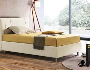 letto singolo moderno piazza e mezzo contenitore