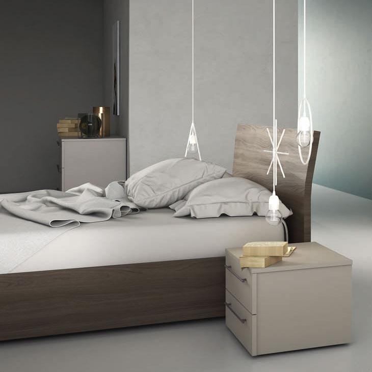 Letto testiera curvata rete e materasso inclusi letti a prezzi scontati - Idea testiera letto ...