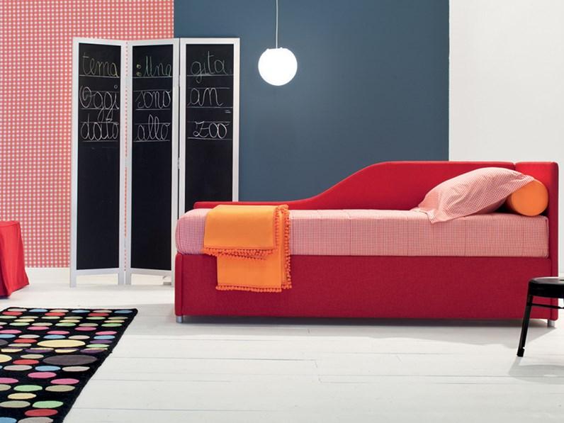 Offerta letto con contenitore e 2 letto estraibile for Bergamin arredamenti mestre