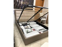 LETTO Vanity ecopelle Spar in OFFERTA OUTLET