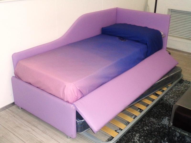 clikad comodini design : Venice letto divanoletto v&nice joy ecopelle lilla singolo design ...