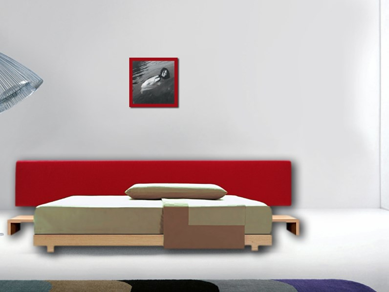Letti Design Outlet.Letto Zen Zanotta In Offerta Outlet