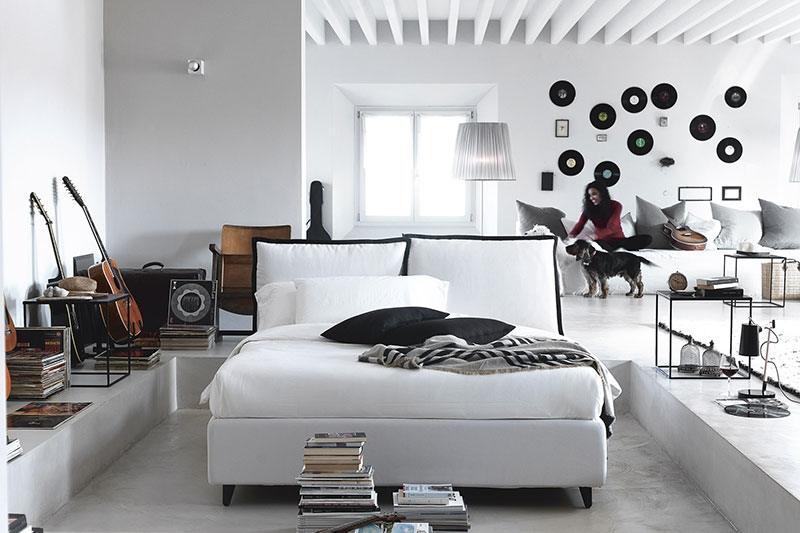 Noctis letto so pop contenitore con secondo rivestimento - Rivestimento letto contenitore ...