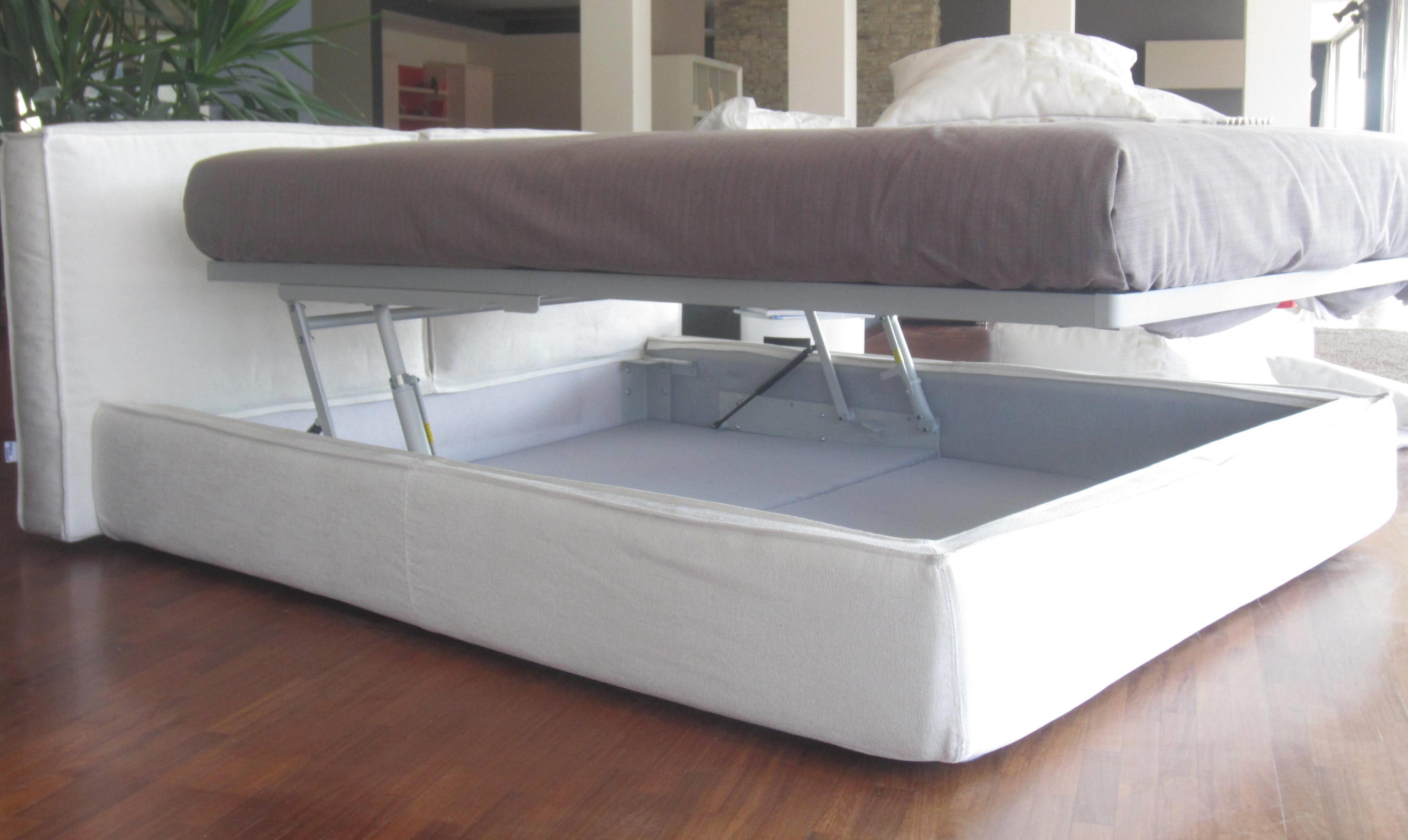 Offerta letto con contenitore letti a prezzi scontati for Letti in tessuto con contenitore