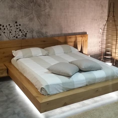 Offerta letto in legno massello letti a prezzi scontati for Letto design offerta