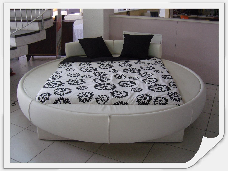 Offerta letto tondo ecopelle 11677 letti a prezzi scontati - Misure letto rotondo ...