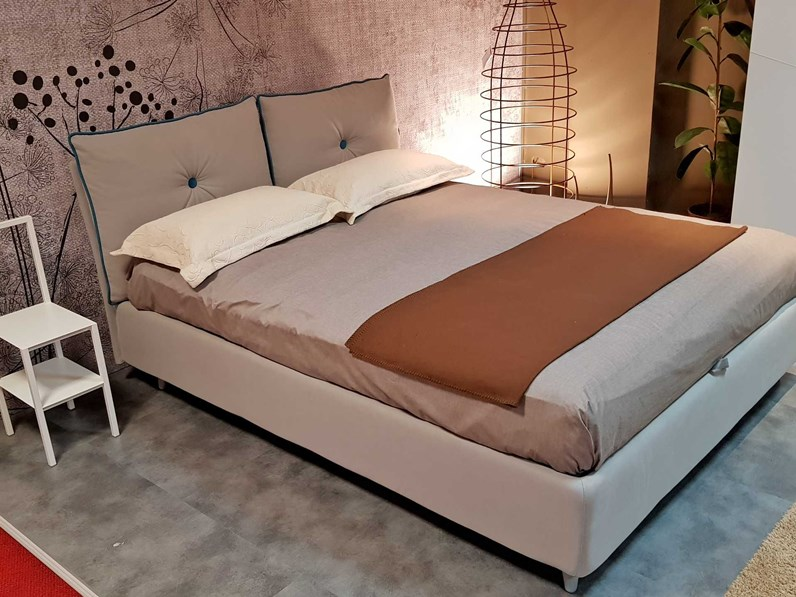 Letto Matrimoniale Con Contenitore Outlet.Outlet Letto So Lively Noctis