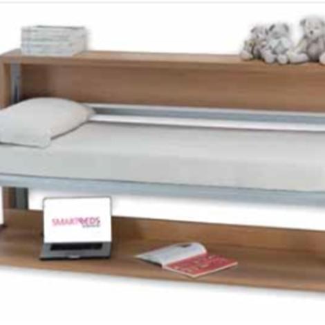 Paris letto singolo con scrivania trasformabile   letti a prezzi ...