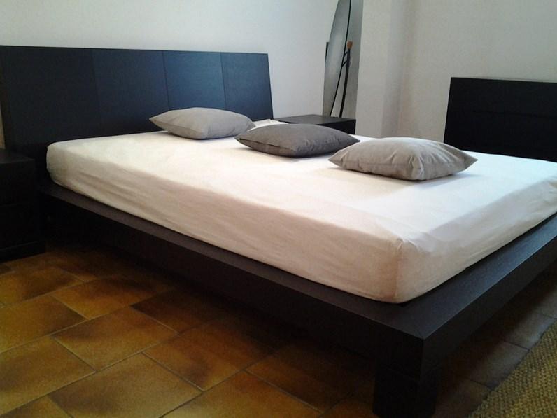 Presotto italia letto club matrimoniale moderno legno