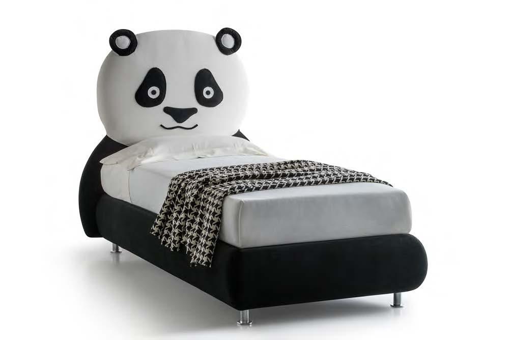 Promo nuovo letto contenitore cameretta collezione panda - Materasso letto contenitore ...