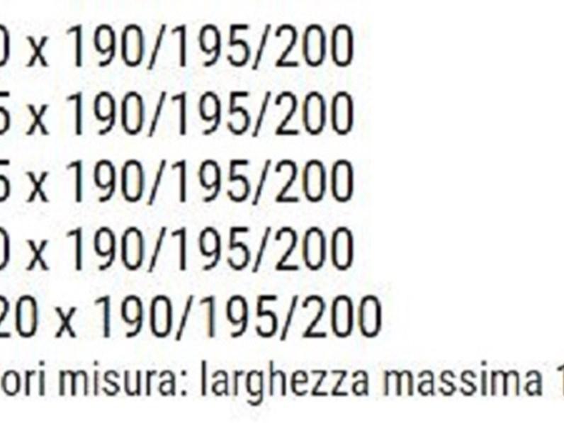 RETE MOTORIZZATA PER MATERASSO SINGOLO 80 x 195/200 cm MOD. ELBA,