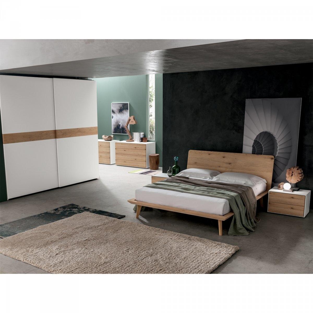 Letto in legno santa lucia modello talak con comodino modello quadro 33 letti a prezzi scontati - Rino gaetano nel letto di lucia ...