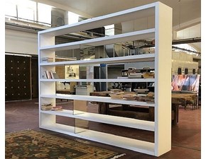 Libreria Acropolis in stile design di Tisettanta in OFFERTA OUTLET