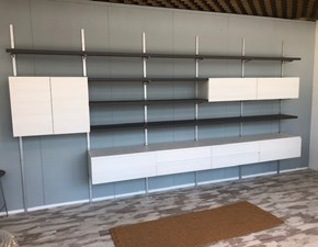 Libreria Book in stile design di Arrex in OFFERTA OUTLET