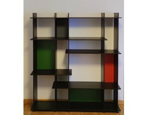 Libreria Libreria level 733/4 zanotta in stile design di Zanotta in OFFERTA OUTLET