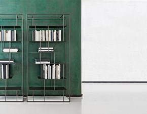 Libreria Libreria tower Presotto in stile design a prezzi convenienti