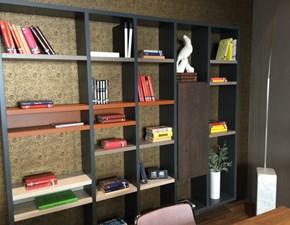 Libreria Linea 30mm in stile design di Lago in OFFERTA OUTLET