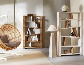 Libreria Miring in stile design di Outlet etnico in OFFERTA OUTLET