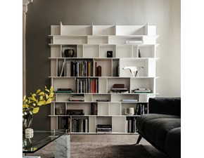 Libreria Wall Cattelan in stile design in offerta