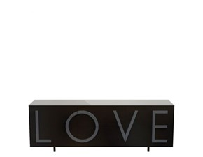 Madia di Driade in laccato opaco Driade love  in Offerta Outlet