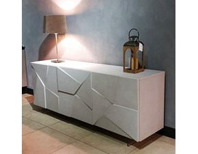 Madia in stile design Concrete  di Dall'agnese in Offerta Outlet