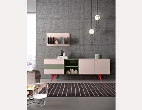 Madia in stile moderno Start 06 di Mottes selection in Offerta Outlet