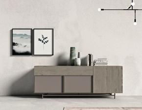 Mobile soggiorno modello Day 144 madia di Mottes selection a prezzo Outlet