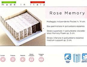 Materasso Florida Rose memory SCONTATO 27%