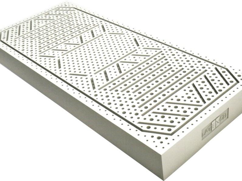 Materasso mod. Silver singolo 100% lattice LINEA SALUTE di Vernocchi Davide