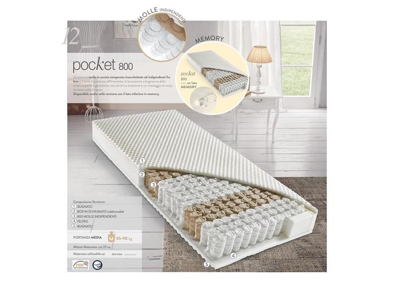 Materasso Pocket 800 Beldormire Molle Insacchettate A Prezzo Scontato