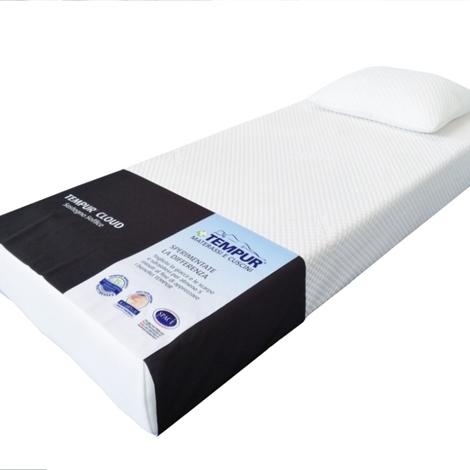 materasso tempur cloud 21 scontato del 50 materassi a prezzi scontati. Black Bedroom Furniture Sets. Home Design Ideas