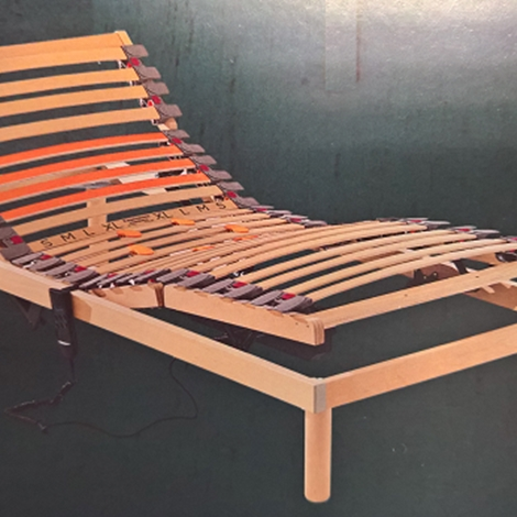 Rete letto motorizzata con alzata testa piedi modello elba singola scontata del 30 materassi - Testa del letto ...