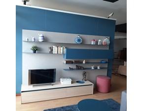Parete attrezzata Living Novamobili in stile design a prezzo scontato