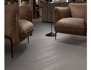 Ceramica per interno Cotto d`este   KERLITE GREY PAINT BACKSTAGE 20x150x0.55 a PREZZI OUTLET