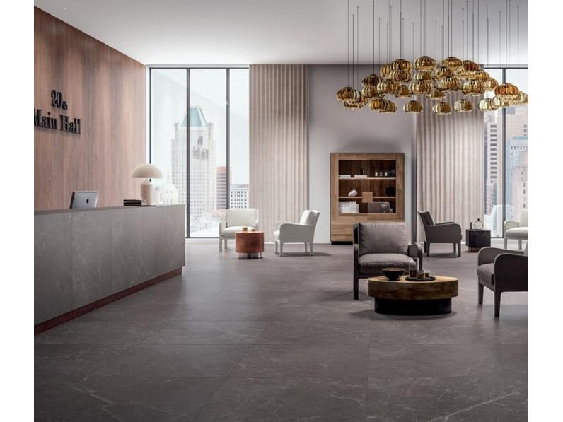 Ceramica per interno Cotto d`este KERLITE RAIN GREY EXEDRA 50X100X0 ...