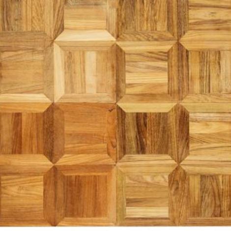 Parquet a intarsio teak legno massello pavimenti a - Parquet teak bagno ...