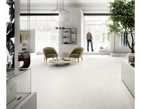 Pavimento ceramica Cotto d`este KERLITE WHITE PAINT BACKSTAGE 20x150x0.55 OFFERTA OUTLET