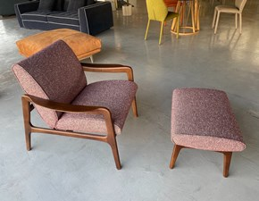 Poltroncina modello Jack Cts salotti in Tessuto in Offerta Outlet