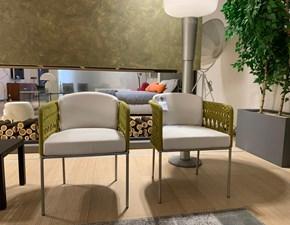 Poltroncina modello Mini tombolo Living divani in Tessuto a prezzo scontato